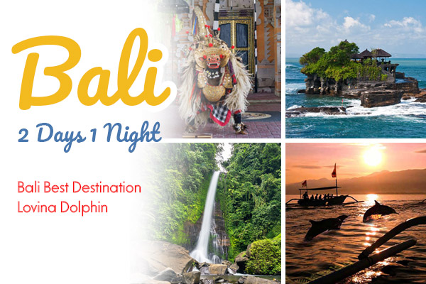 2 Days 1 Night Bali Private Tours with Bali Private Driver